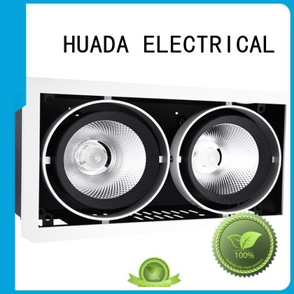 HUADA ELECTRICAL Brand modern led 6 spotlight ceiling bar