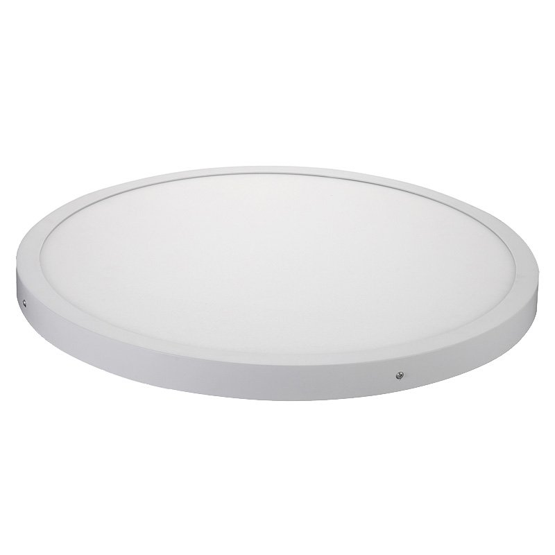 HUADA ELECTRICAL Factory Price Cob LED Surface Panel Light Round φ600*40 LED Slim Panel Light image9
