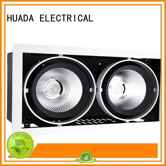 6 spotlight ceiling bar angle spotlight product HUADA ELECTRICAL Brand