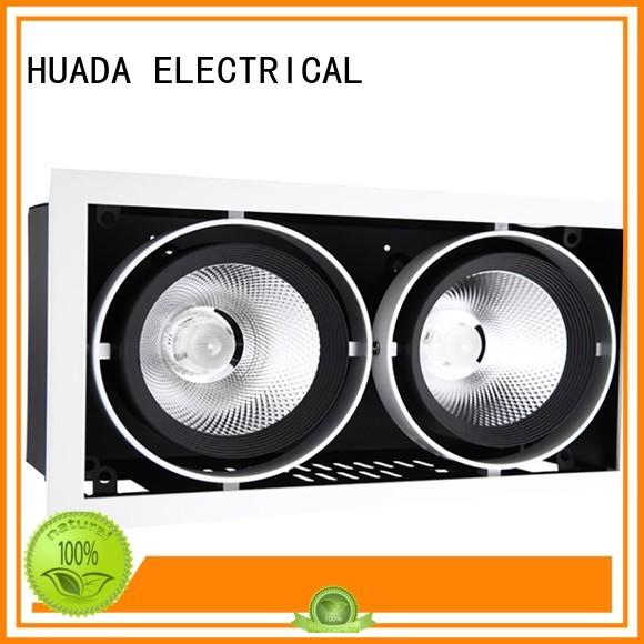 6 spotlight ceiling bar angle spotlight product HUADA ELECTRICAL Brand