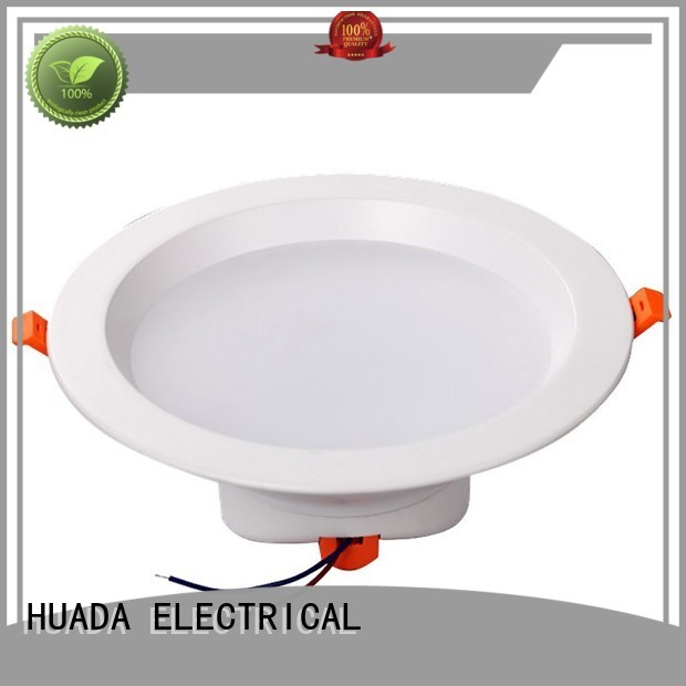 dimmable 006a recessed bathroom led downlights HUADA ELECTRICAL Brand company