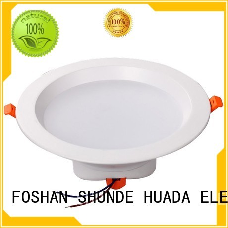 recessed waterproof HUADA ELECTRICAL Brand black led downlights