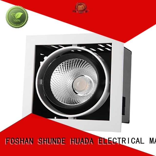 series heads lighting OEM square led spotlights HUADA ELECTRICAL