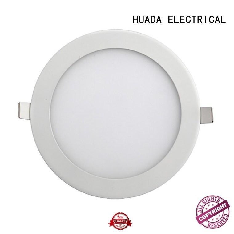 HUADA ELECTRICAL Brand round panel slim led light sheet panel manufacture