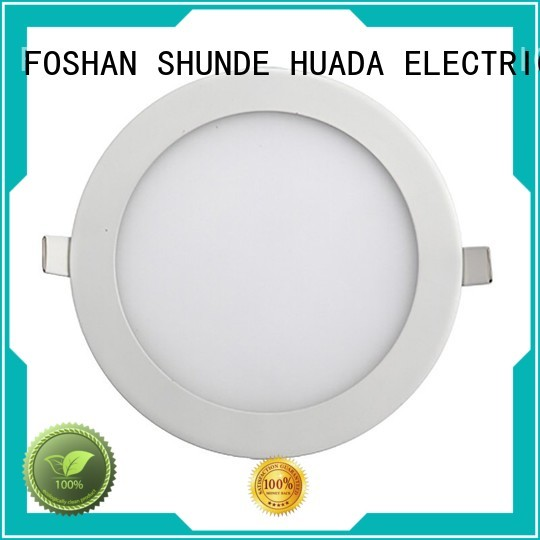 led flat panel ceiling lights changeable diecasting thin Warranty HUADA ELECTRICAL