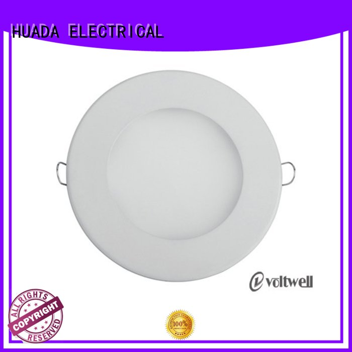 HUADA ELECTRICAL Brand sidelit light low profile led recessed lighting round