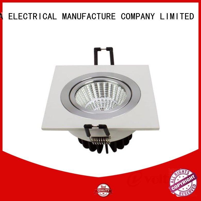 Quality HUADA ELECTRICAL Brand 6 spotlight ceiling bar grille modern