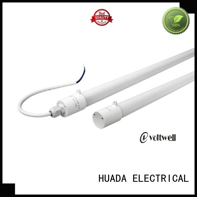 glass Custom proof led tube price tube HUADA ELECTRICAL