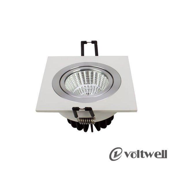 Hot Sell Lighting Product LED 1*7W Square Spotlight