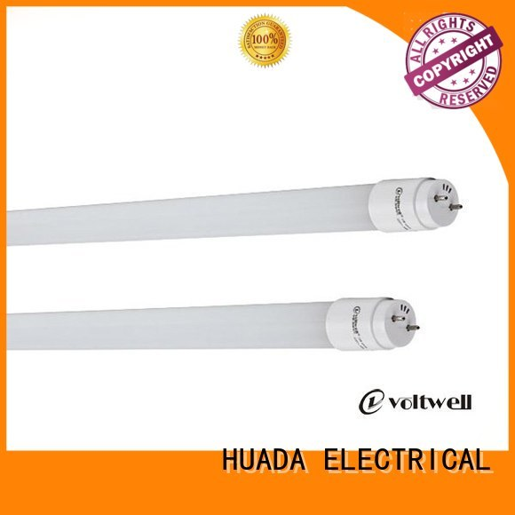 HUADA ELECTRICAL Brand glass led tube price sale factory