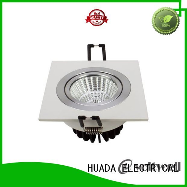 sell adjustable grille square led spotlights dimmable HUADA ELECTRICAL Brand