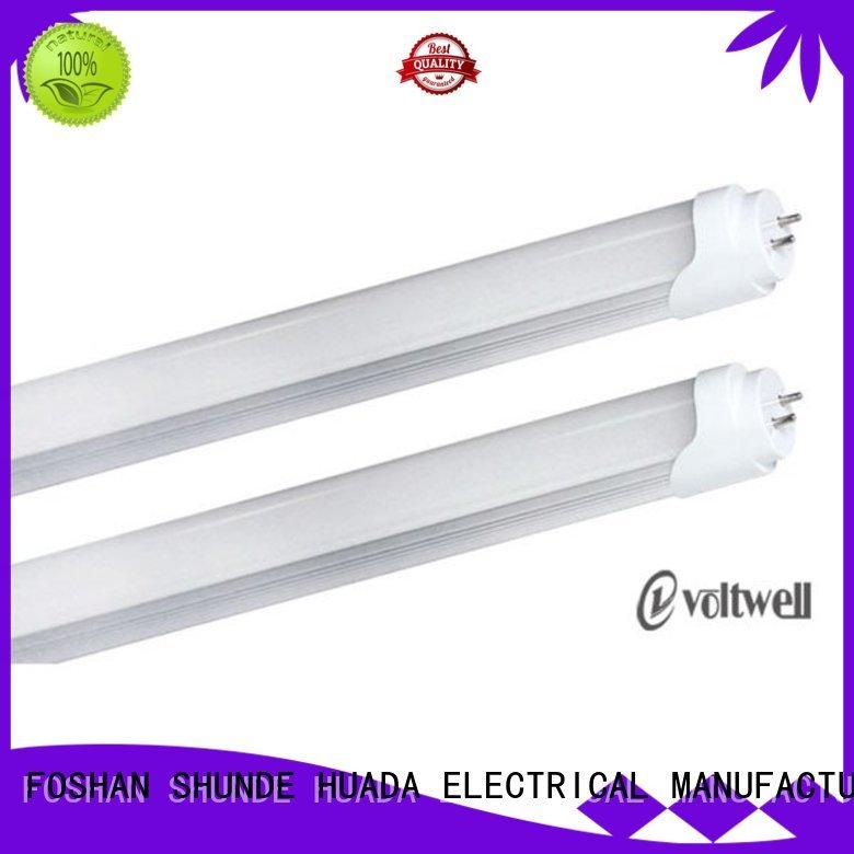plastic pc led tube light set price HUADA ELECTRICAL manufacture