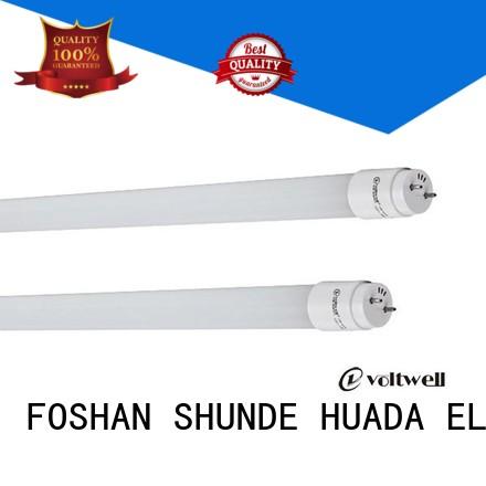 Hot led tube light set price 9w HUADA ELECTRICAL Brand
