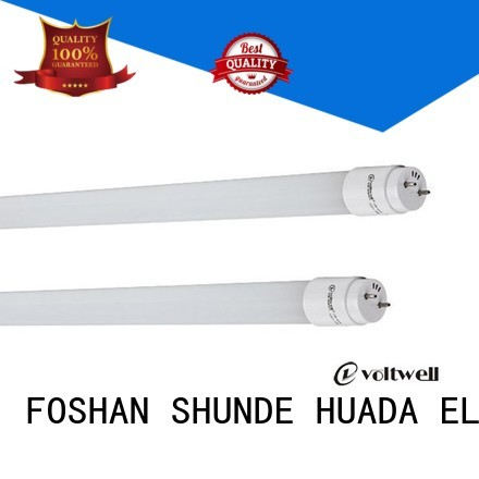 Hot led tube light set price 9w HUADA ELECTRICAL Brand