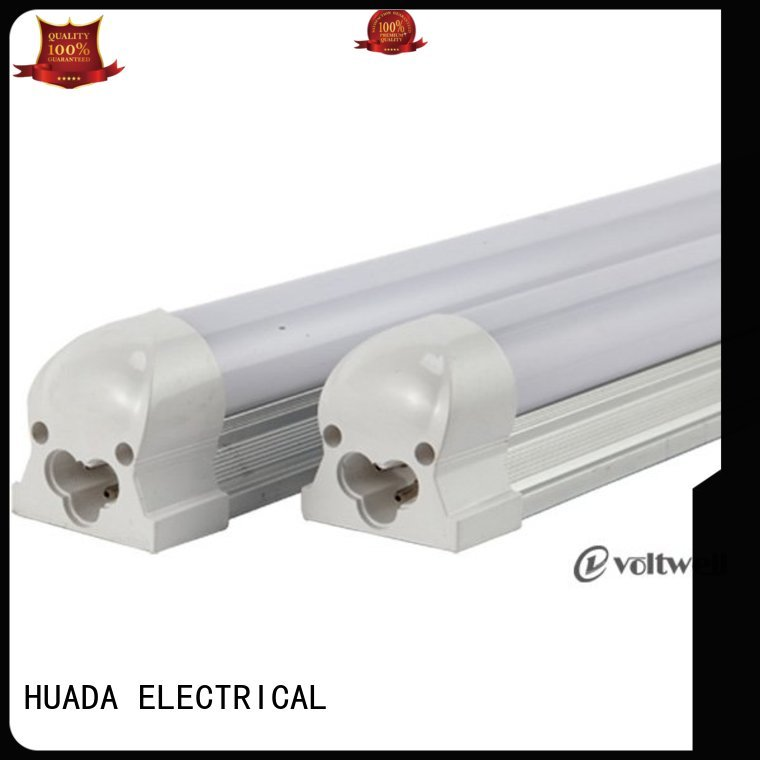 HUADA ELECTRICAL Brand integrated t8 9w led tube light fittings manufacture