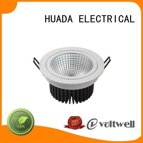 series recessed led OEM adjustable spotlights ceiling HUADA ELECTRICAL