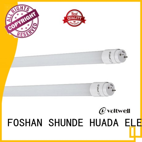 Hot 9w led tube light set price plastic HUADA ELECTRICAL Brand