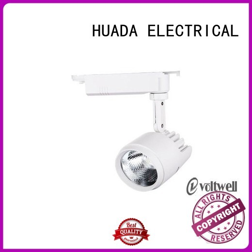 HUADA ELECTRICAL Brand led shop led track lighting systems spotlight supplier