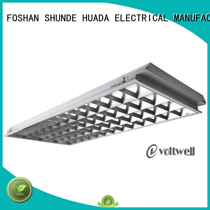 Quality HUADA ELECTRICAL Brand led area lighting fixtures 4x40w grid