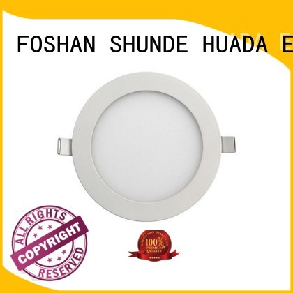 HUADA ELECTRICAL Brand 6w panel surface mounted led panel light manufacture