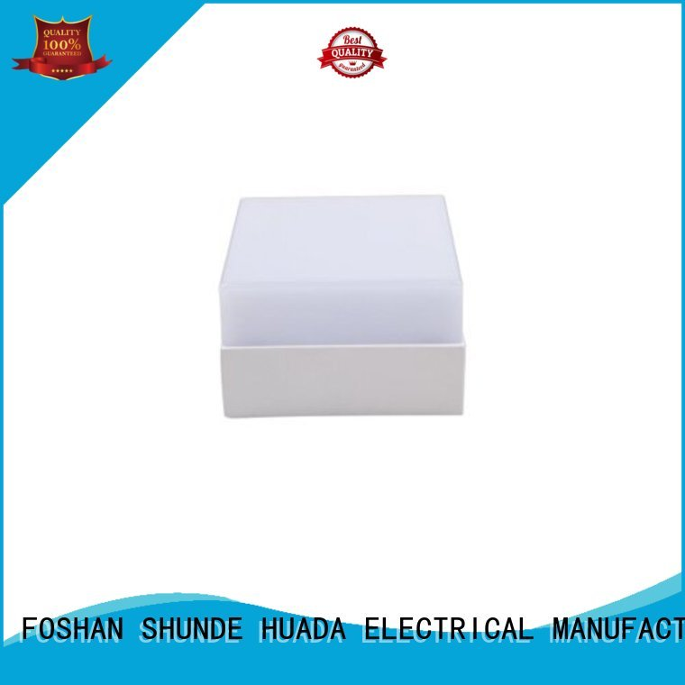 dimmable Custom light surface surface mounted led panel light HUADA ELECTRICAL square