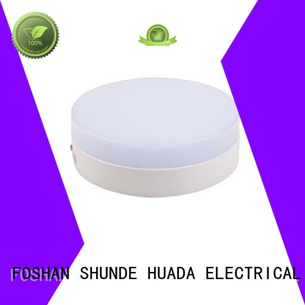 HUADA ELECTRICAL Brand color 18w surface mounted led panel light side factory