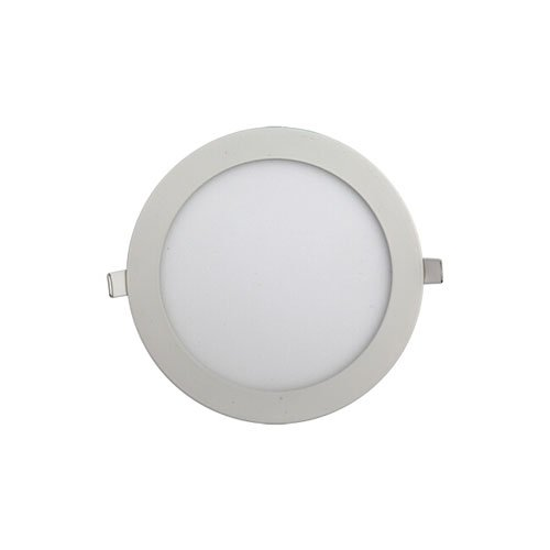 Surface Mounted ABS Dimmable LED Round Recessed Flat Panel Light 18W