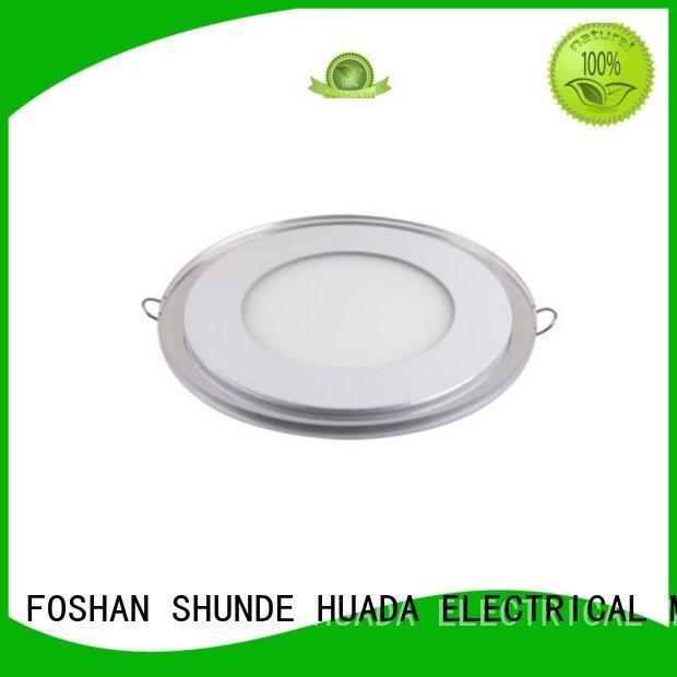bright square aluminum round led slim panel light HUADA ELECTRICAL