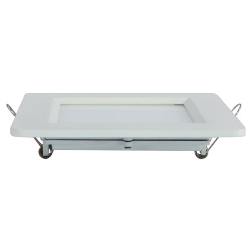 HUADA ELECTRICAL High Quality LED Die-Casting Panel Light 6W Square Recessed LED Side Lighting Panel image14