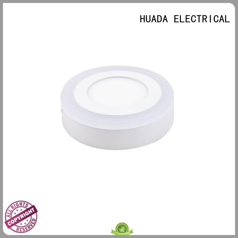 light surface ultra HUADA ELECTRICAL Brand led panel light housing factory