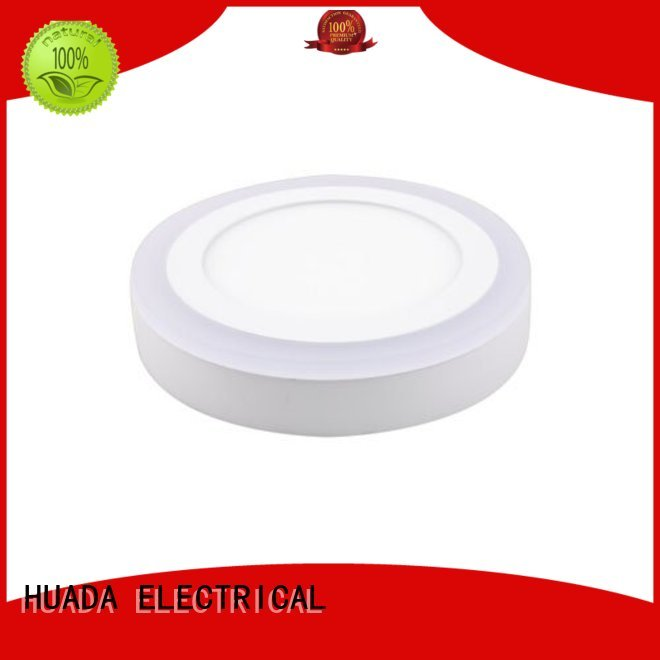 HUADA ELECTRICAL Brand thin round led led surface panel light manufacture