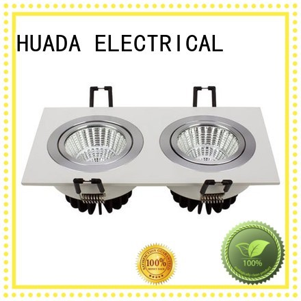 6 spotlight ceiling bar recessed g11 HUADA ELECTRICAL Brand square led spotlights