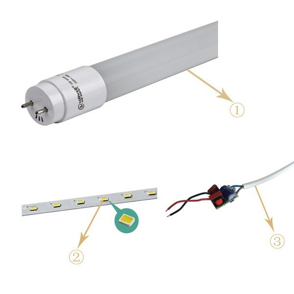 led tube light set price t8 sale led tube price HUADA ELECTRICAL Brand