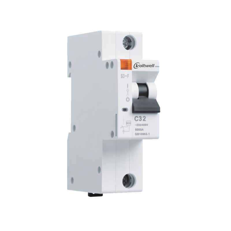 1P mini circuit breaker