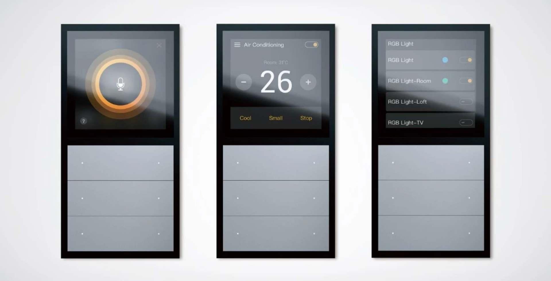 Panel controller TFT screen