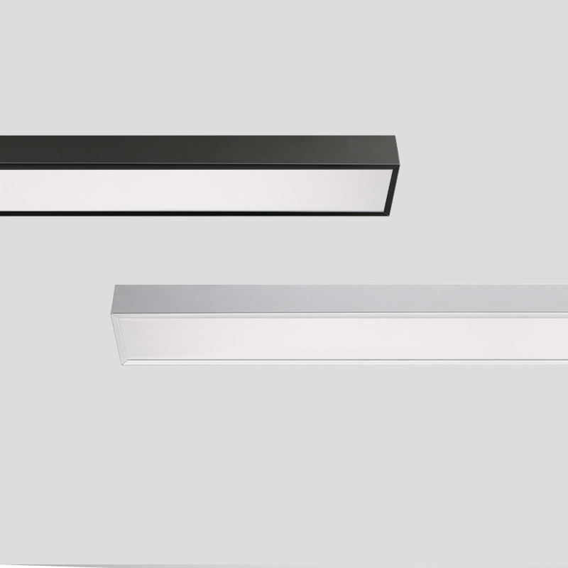 LED smart pendant linear light 1200X80X60