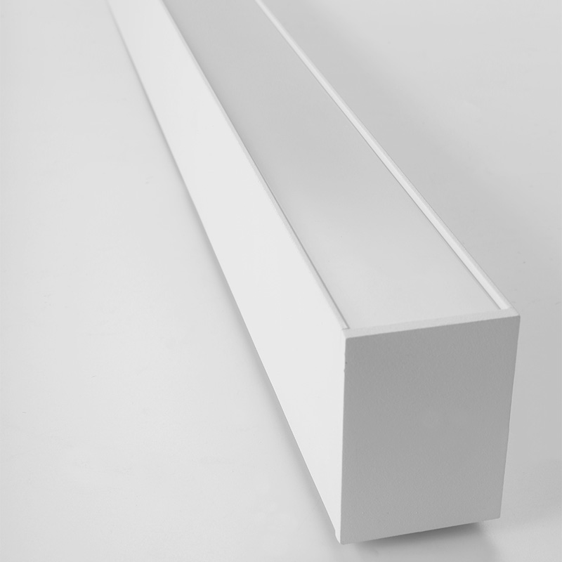 LED aluminum suspended smart office light CCT+RGB