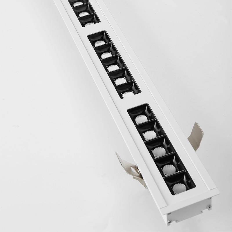LED aluminum built-in smart office light 1205X65X33